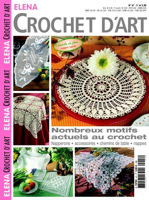 Au crochet brise bise napperons chemin de table suspension - Napperon crochet chemin de table ...