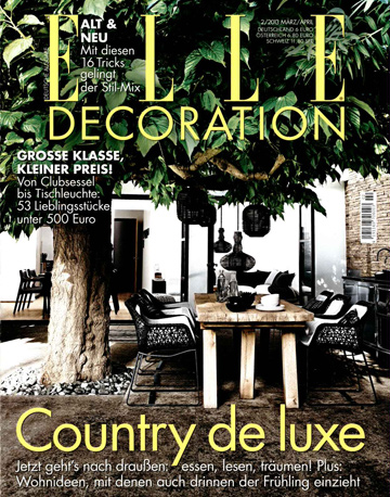 Elle Decoration Deutsche Version Magazine Subscription