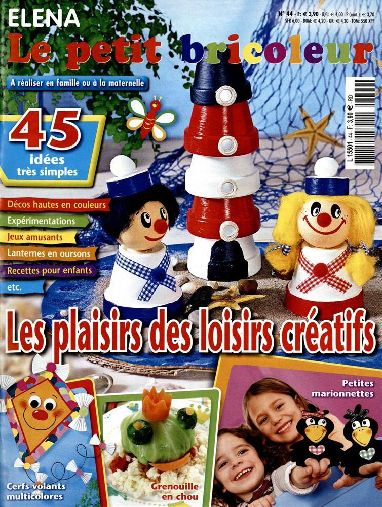 Abonnement magazine elena le petit bricoleur hs dynapresse - Les petits bricoleurs ...