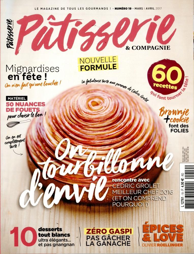 Abonnement Pâtisseries  Compagnie magazine