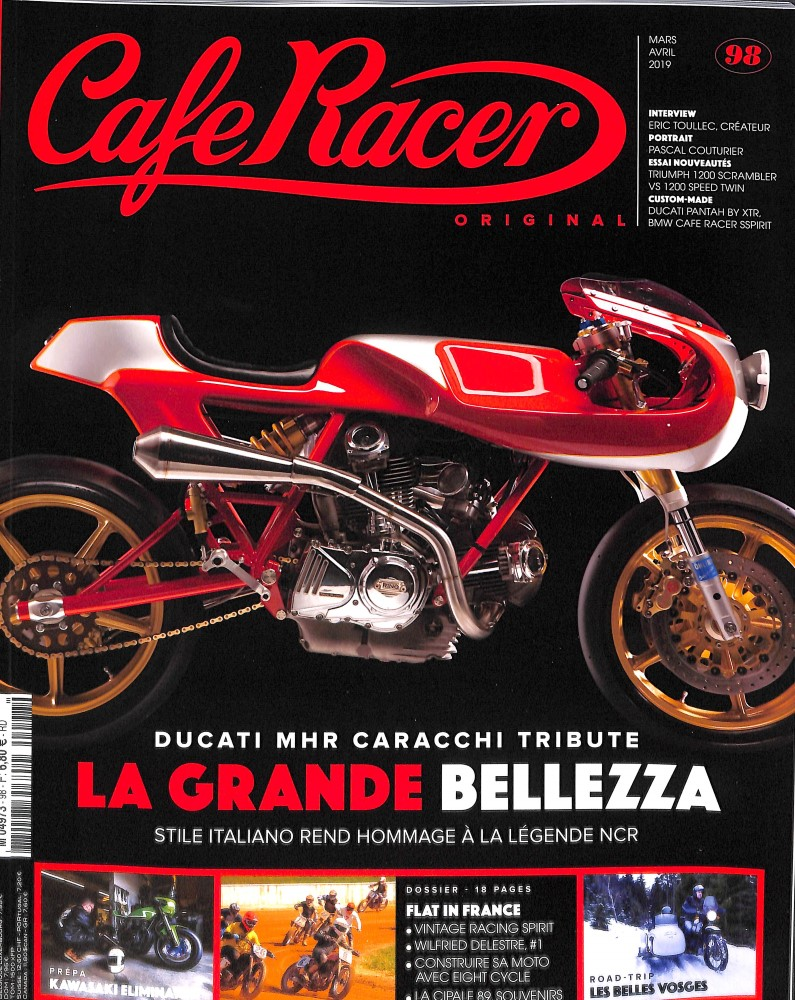 abonnement cafe racer original magazine. Black Bedroom Furniture Sets. Home Design Ideas