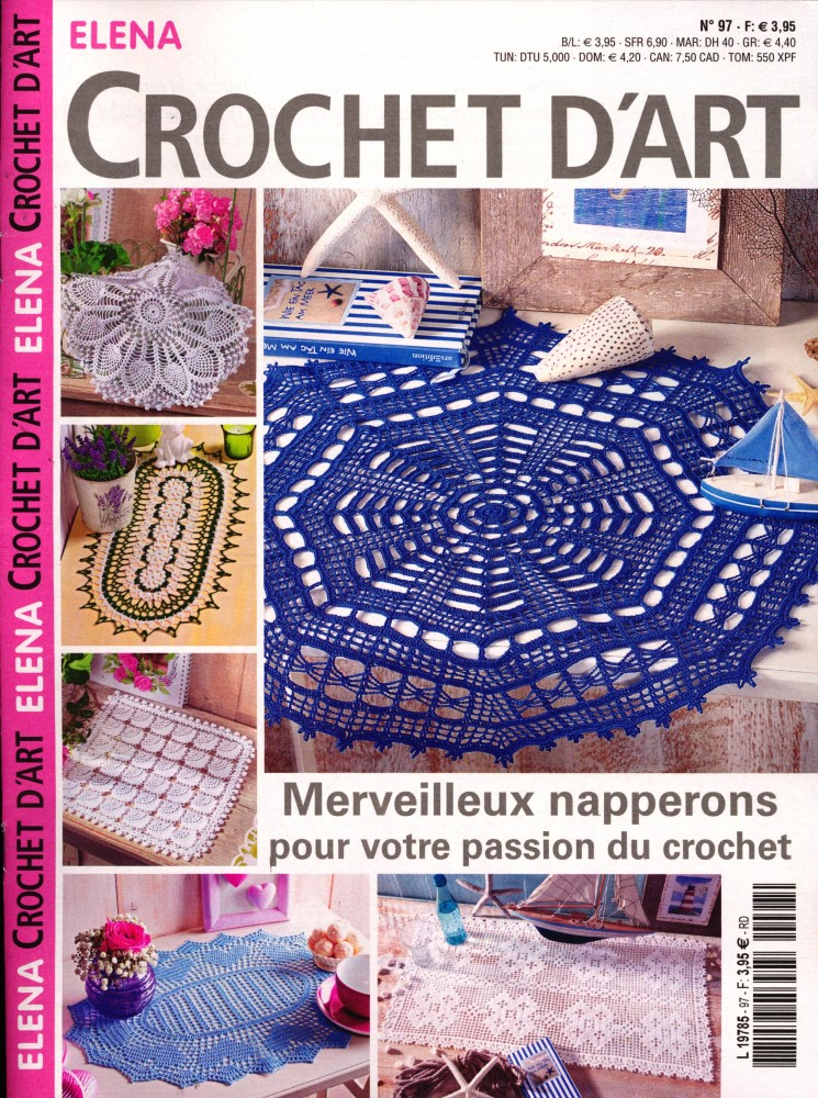Abonnement Elena Crochet d'Art magazine