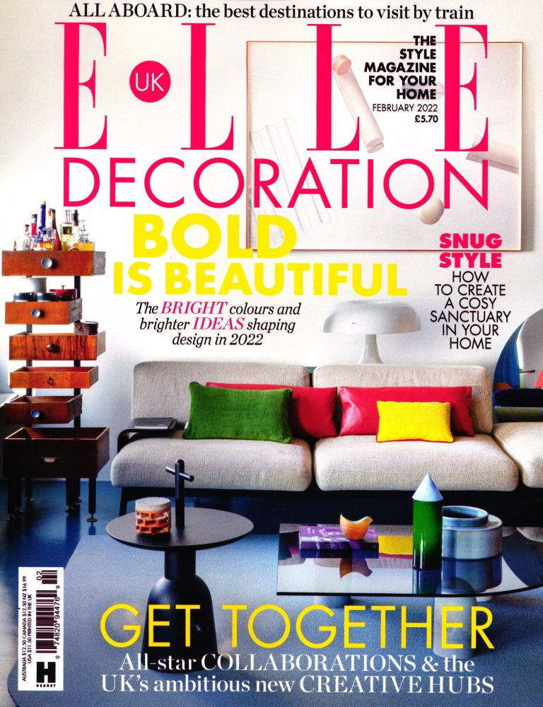 Elle Decoration Gb Magazine Subscription