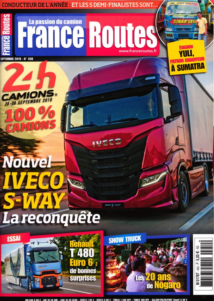 Abonnement France Routes magazine