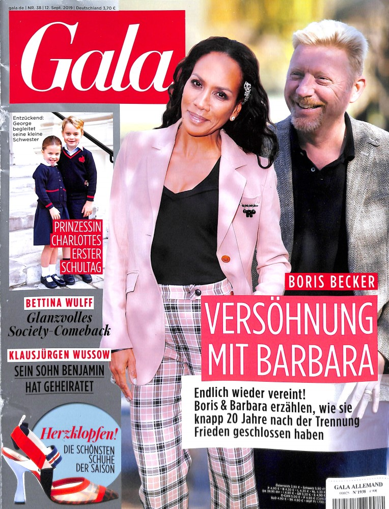 Abonnement Gala (Deutsche Version) magazine