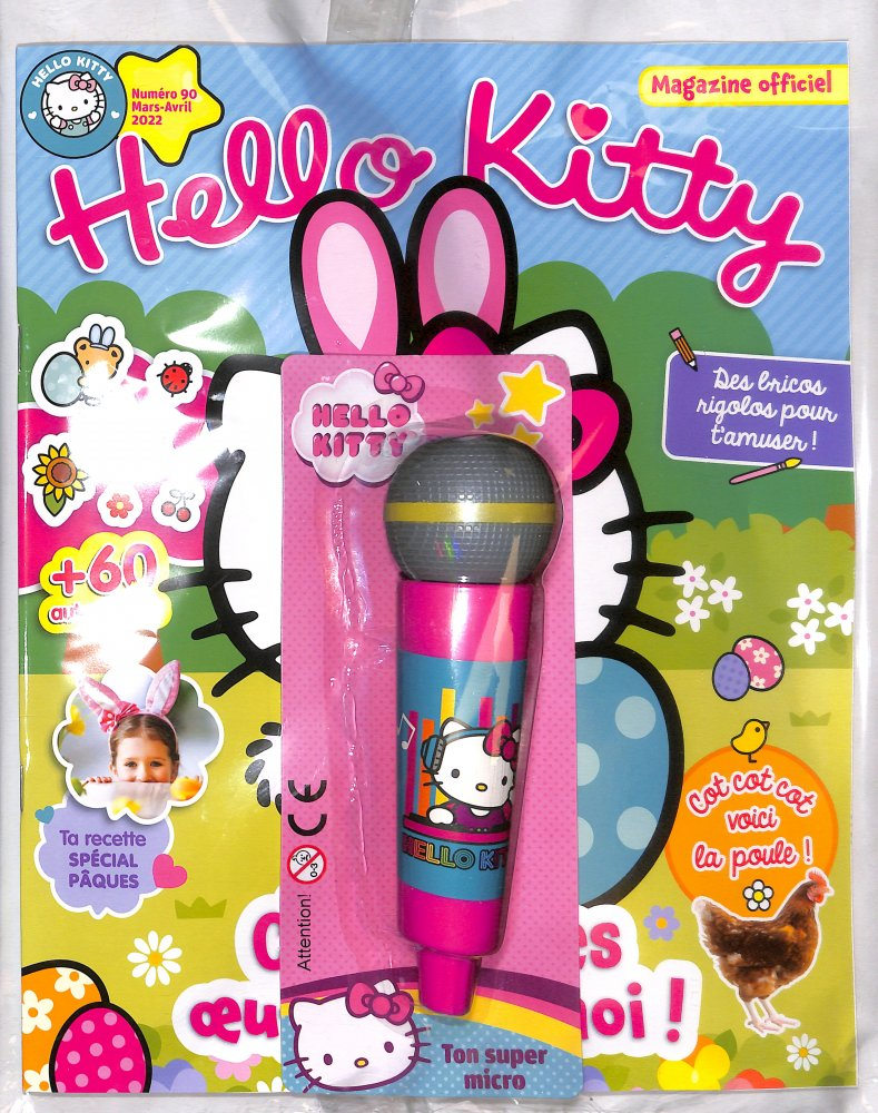 Abonnement Hello Kitty Club magazine