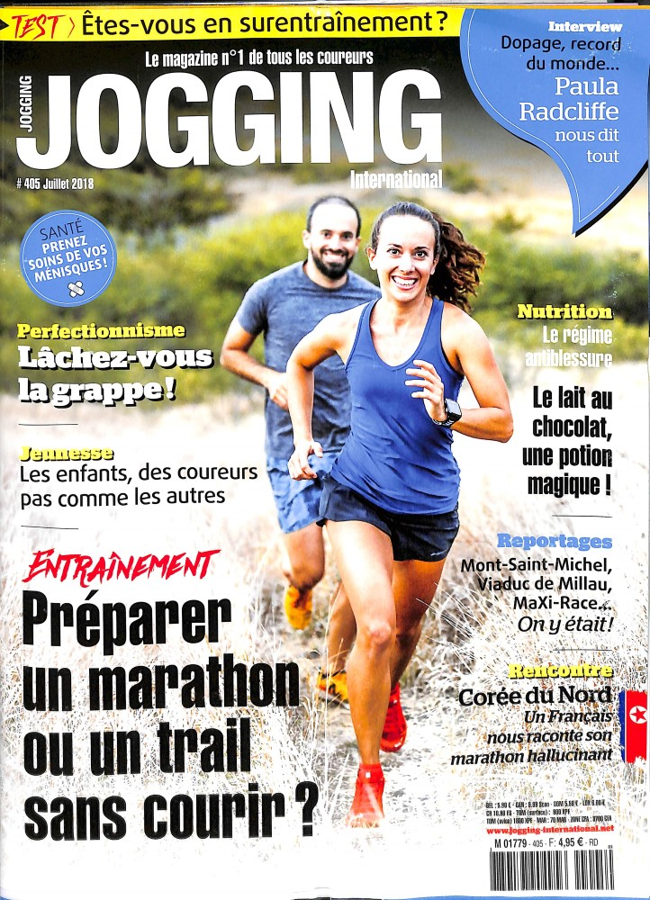 Abonnement Jogging International magazine
