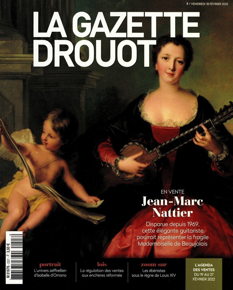 Abonnement La Gazette Drouot magazine