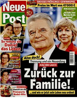 Abo Neue Post magazin