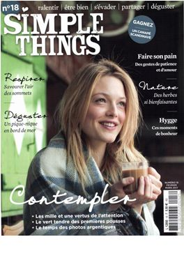 Abonnement Simple Things magazine