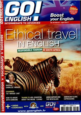 Abonnement Go English magazine