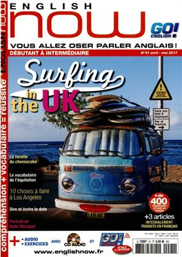 Abonnement English Now magazine