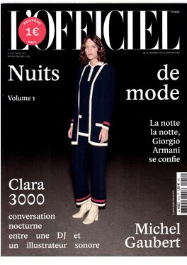 Abonnement L'officiel de la Couture et de la Mode de Paris magazine