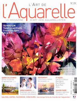 Abonnement L'Art de l'Aquarelle magazine