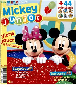 Abonnement Mickey Junior magazine