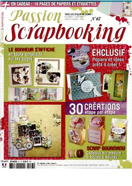 Abonnement Passion Scrapbooking magazine