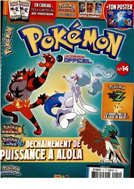 Abonnement Pokémon Le Magazine Officiel magazine