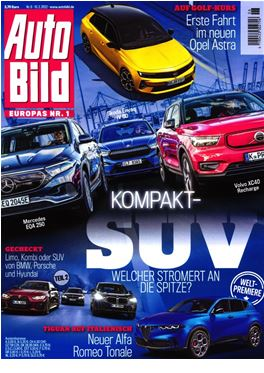 Subscription Auto Bild magazine
