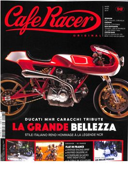 Abonnement Cafe Racer Original magazine