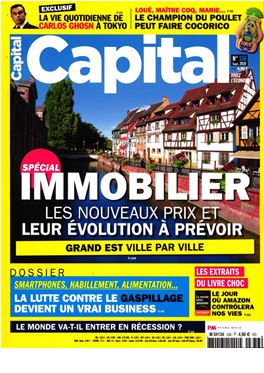 Abonnement Capital magazine