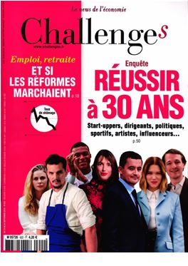 Abonnement Challenges magazine