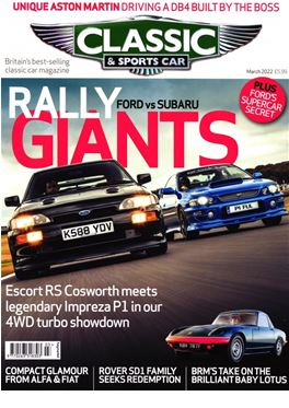 Subscription Classic & Sportscar (GB) magazine