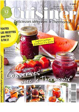 Notre s lection de magazines thermomix en suisse dynapresse - Cuisiner avec thermomix ...