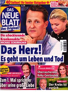Subscription Das Neue Blatt magazine