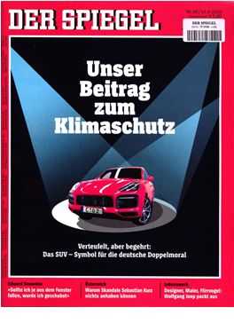 Subscription Der Spiegel magazine