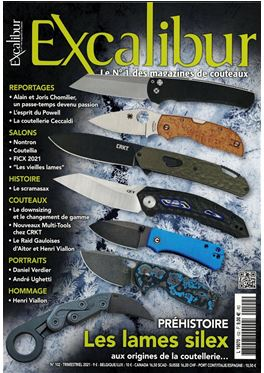 Abonnement Excalibur magazine