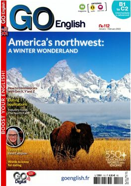 Abonnement Go English + CD magazine