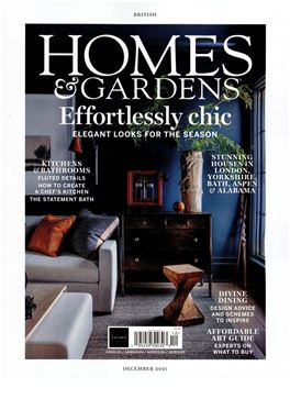 Abonnement Homes & Gardens magazine