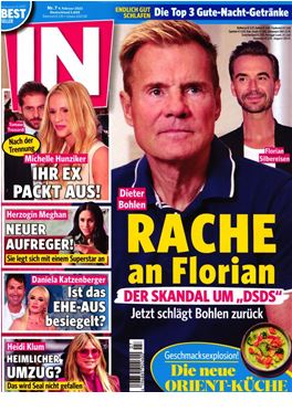 Abonnement IN - Das Star & Style Magazin magazine