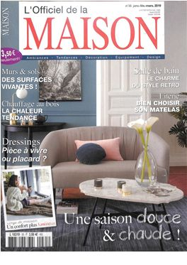 Abonnement L'Officiel de la Maison magazine