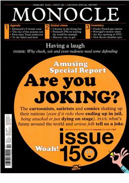 Abonnement Monocle (GB) magazine