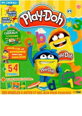 Abonnement Play-Doh magazine