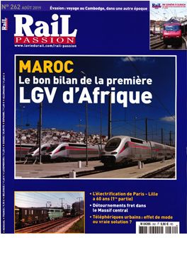 Abonnement Rail Passion magazine