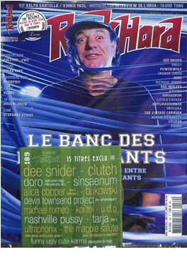 Abonnement Rock Hard magazine