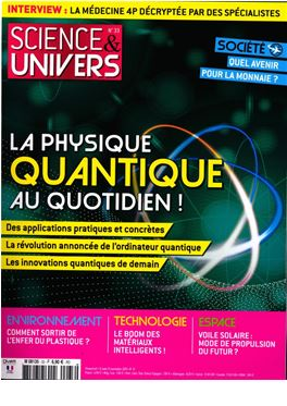 Abonnement Science & Univers magazine
