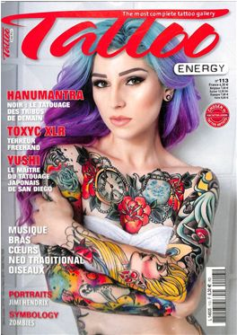 Abo Tattoo Energy magazin