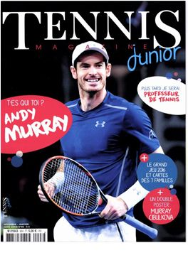 Abonnement Tennis Magazine Junior magazine