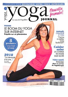 Abonnement Yoga Journal Fr magazine