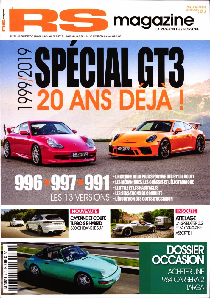 Abonnement RS Magazine magazine