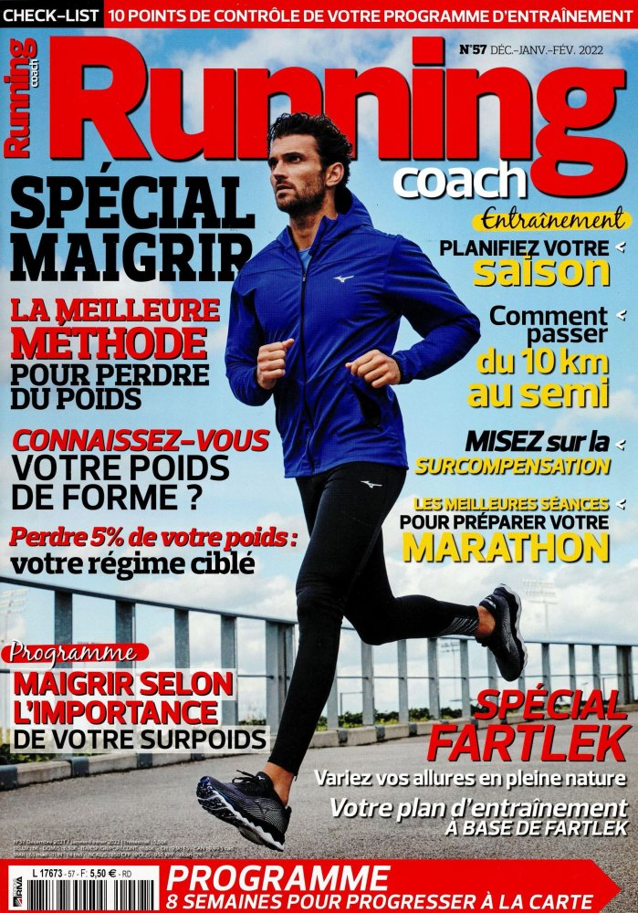Abonnement Running Coach magazine