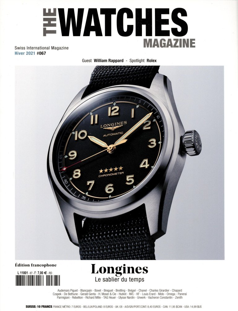 Abonnement The Watches Magazine magazine