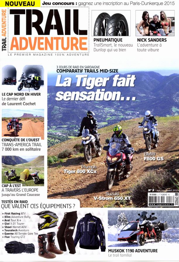 Abonnement Trail Adventure Magazine magazine