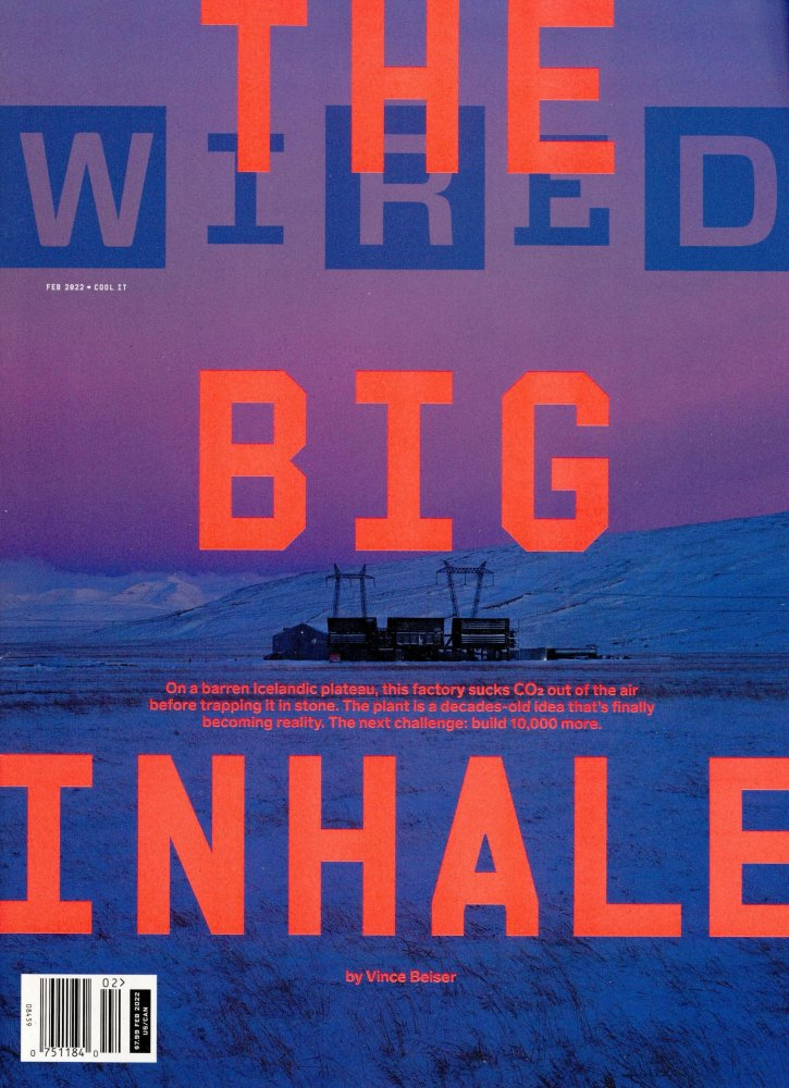 Subscription Wired (US) magazine