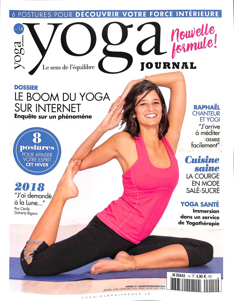 abonnement yoga journal fr magazine. Black Bedroom Furniture Sets. Home Design Ideas
