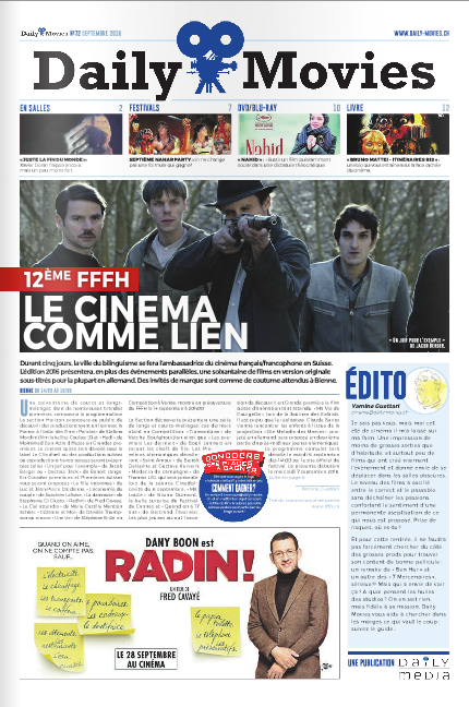 Abonnement Daily Movies magazine