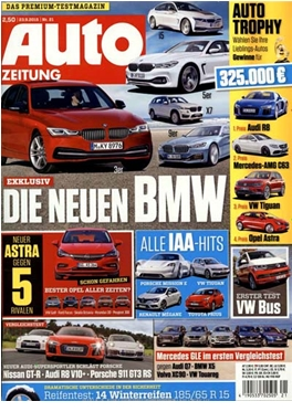Subscription Auto Zeitung magazine